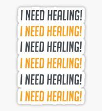 i need healing! Sticker
