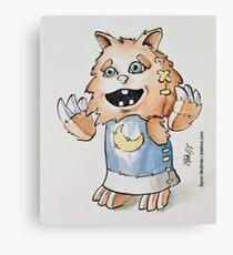 Chibi Werewolf Canvas Print