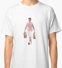 Camiseta clásica John Mayer se ve muy bien con las compras