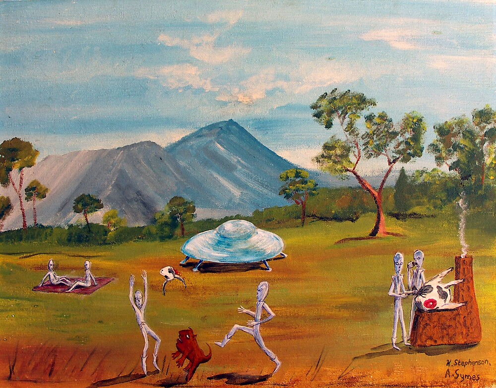 The picnic by Adrian Symes
