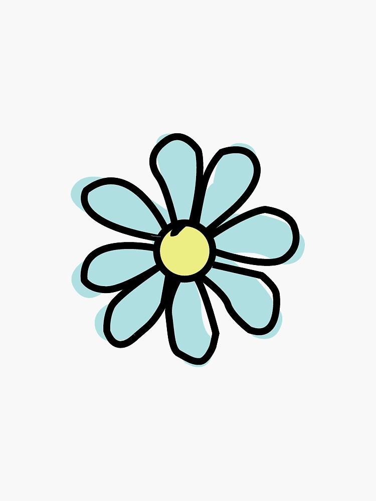 Aqua Flower by jennaannx11