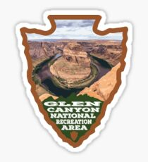 Glen Canyon National Recreation Area arrowhead Sticker