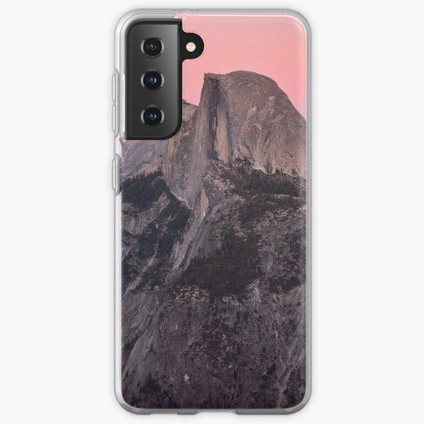 Dusk Falls on Half Dome Samsung Galaxy Soft Case