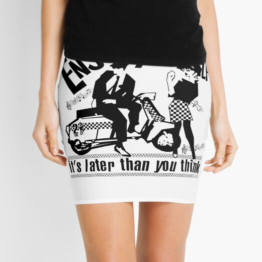 It's later than you think Mini Skirt