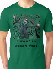 MORIARTY BREAK FREE - NOT FOR DARK CLOTHING Unisex T-Shirt