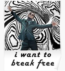 MORIARTY BREAK FREE - NOT FOR DARK CLOTHING Poster