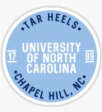 UNC Chapel Hill - Style 25 Sticker