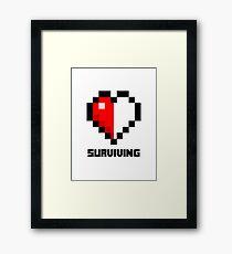 Gaming Heart Framed Print
