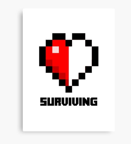 Gaming Heart Canvas Print