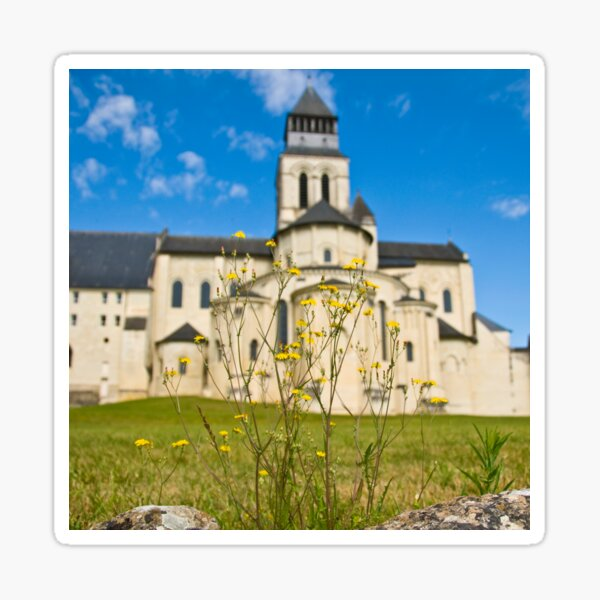 Royal Fontevraud Abbey Sticker