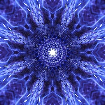 Blue Lagoon Mandala by MindOrchestra