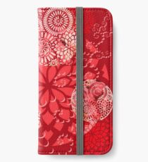 The Red Garden iPhone Wallet