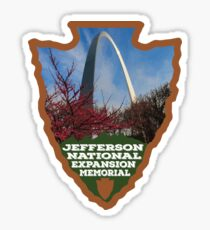 Jefferson National Expansion Memorial arrowhead Sticker