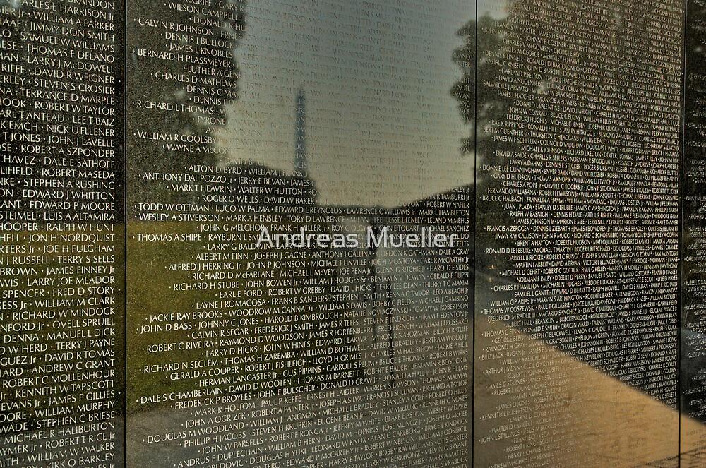 Vietnam War Memorial by Andreas Mueller