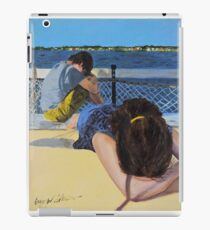 Teenagers on Vacation iPad Case/Skin