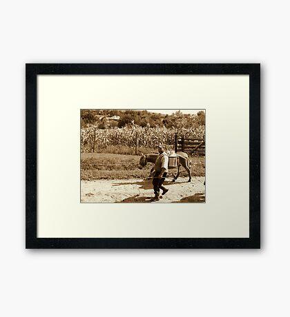 MILK MAN 2 Framed Print