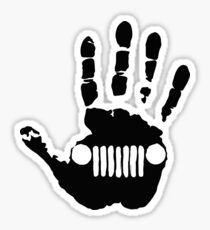 Jeep - hand Sticker