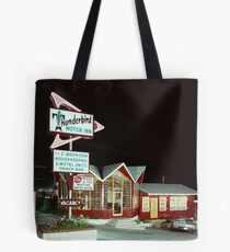 Thunderbird Motor Inn, Lake George NY 1960's Tote Bag