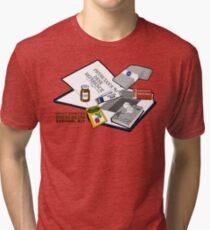 Desert Island Survival Kit Tri-blend T-Shirt