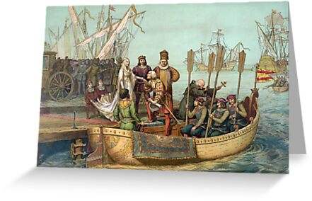 First Voyage of Christopher Columbus by Vintage Works