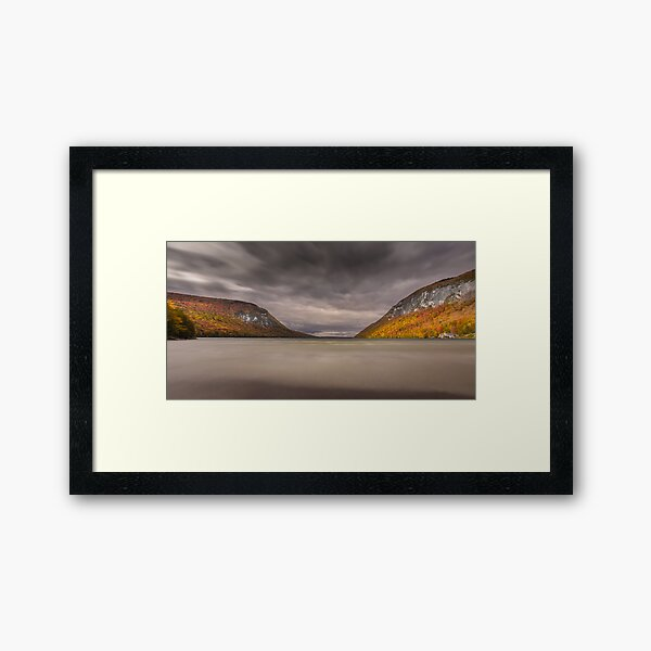 Autumn Winds Framed Art Print