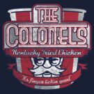 The Colonel's Kentucky Fried Chicken by kaligraf