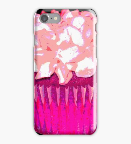 Pink and Black iPhone Case/Skin