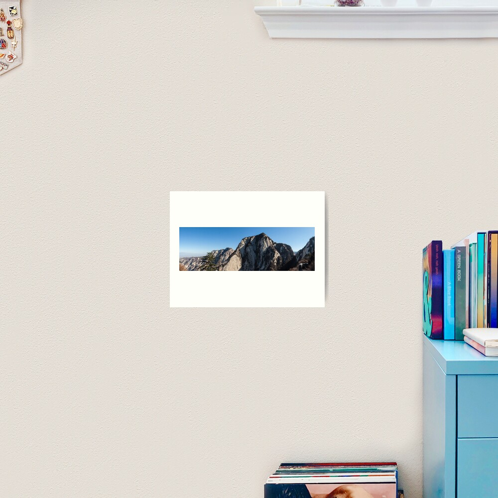Mount Huashan Art Print