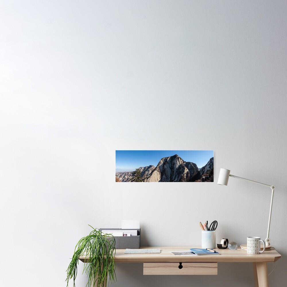 Mount Huashan Poster