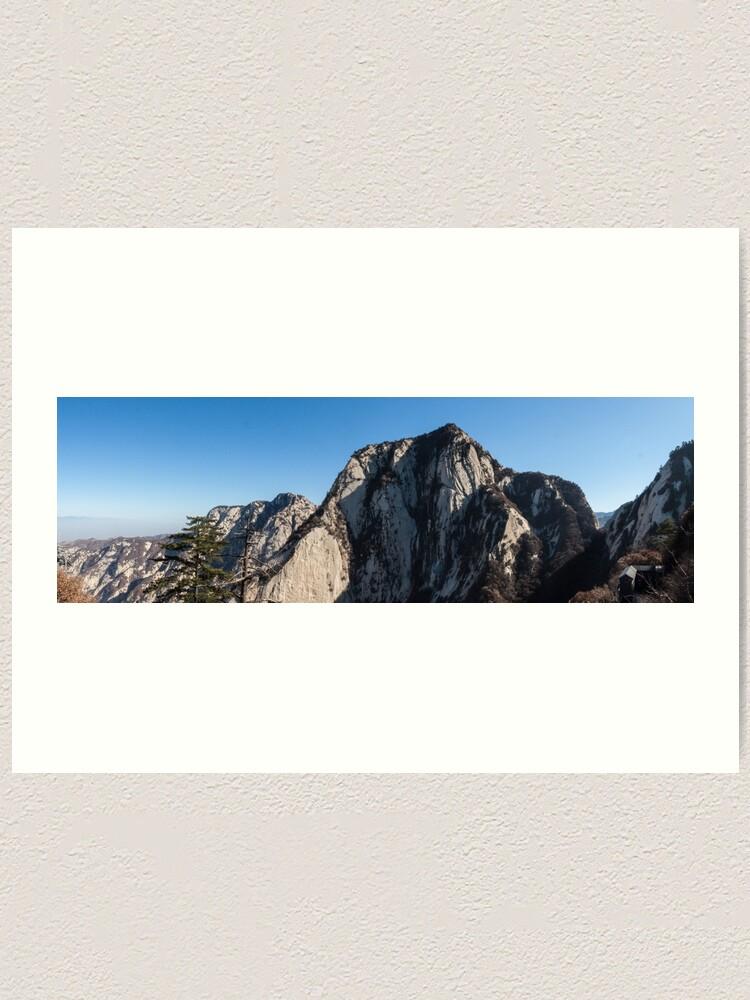 Alternate view of Mount Huashan Art Print