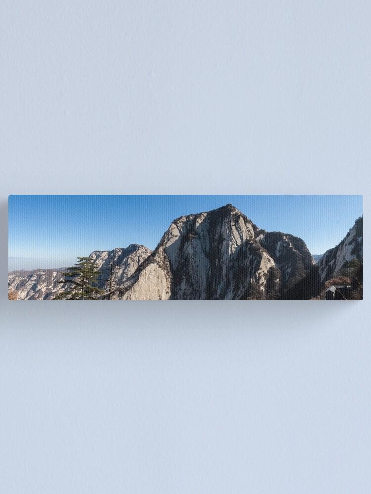 Alternate view of Mount Huashan Canvas Print