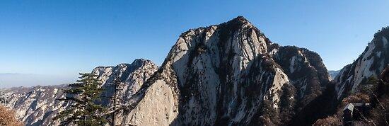 Mount Huashan by Ian Fraser