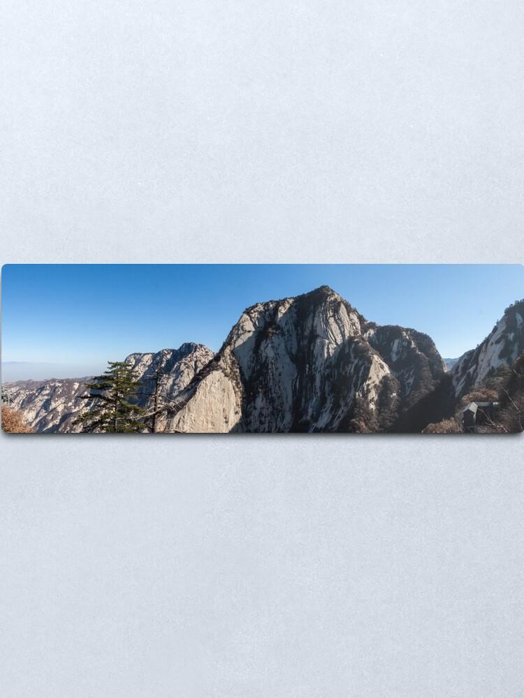 Alternate view of Mount Huashan Metal Print