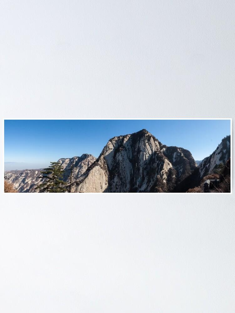 Alternate view of Mount Huashan Poster