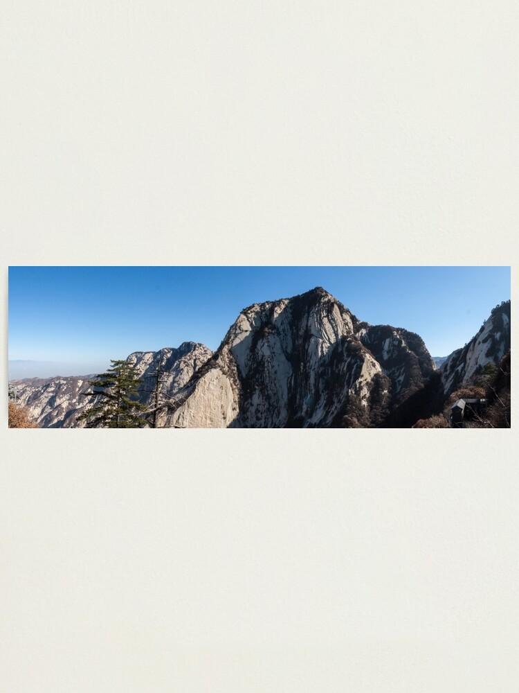 Alternate view of Mount Huashan Photographic Print