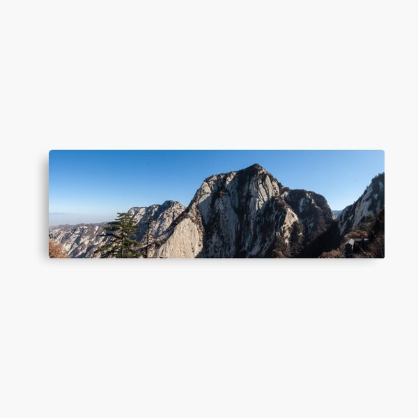 Mount Huashan Canvas Print