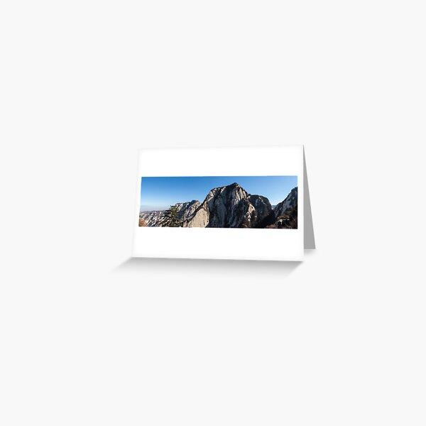 Mount Huashan Greeting Card