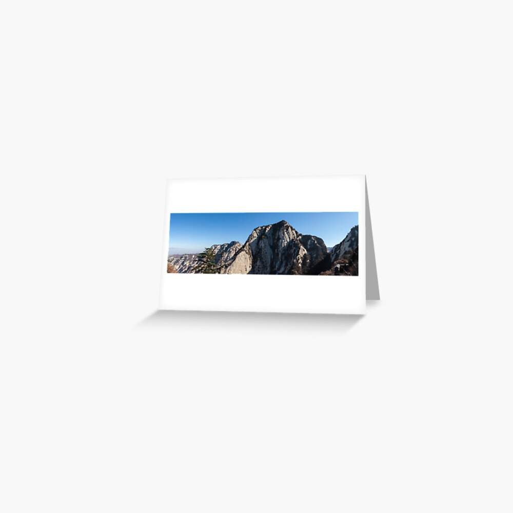 Mount Huashan Greeting Card