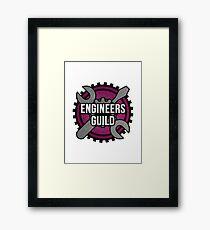 Engineers Guild Framed Print