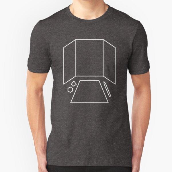 Dungeon Master - Dungeons & Dragons Line Art Series Slim Fit T-Shirt