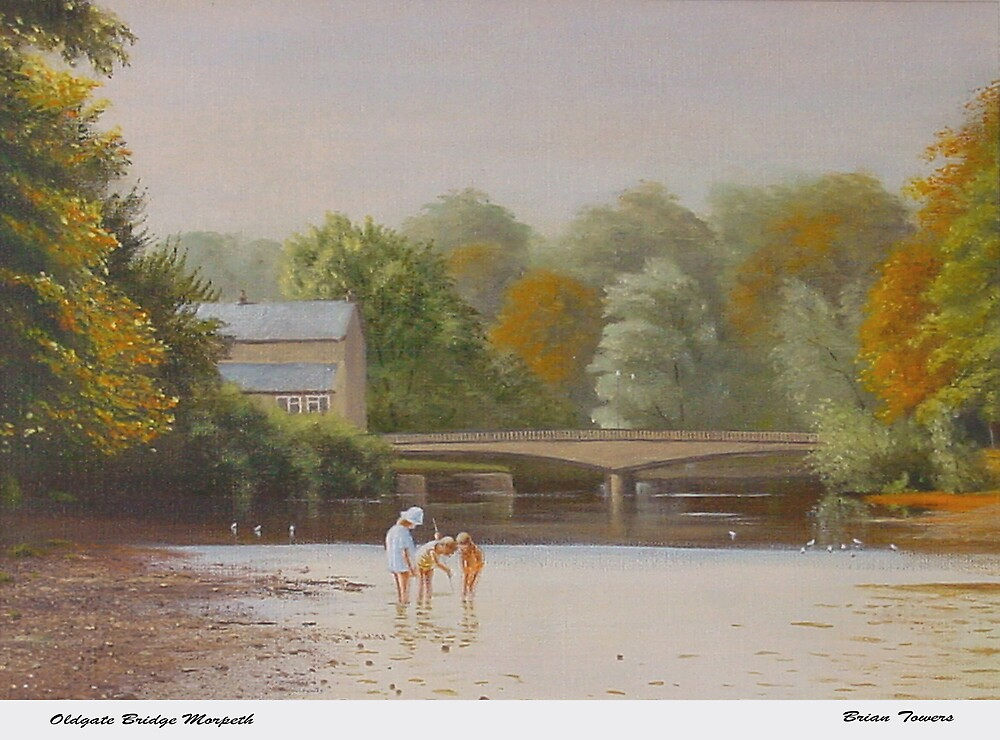 Oldgate Bridge Morpeth. by Brian Towers