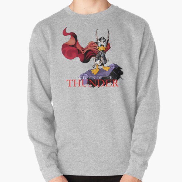 The Duck of the Thunder Pullover Sweatshirt