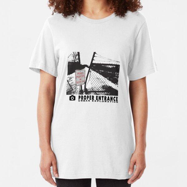 URBEX ENTER HERE Slim Fit T-Shirt