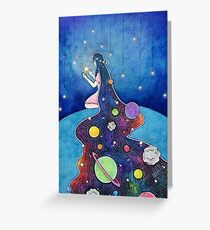 With the Stars Greeting Card