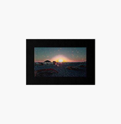 St. Pete Sunset by Respite Artwork Art Board
