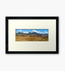 Cunninghams Gap Framed Print