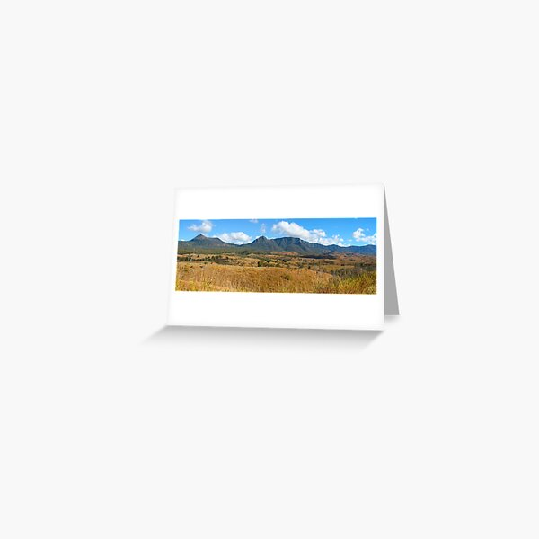 Cunninghams Gap Greeting Card