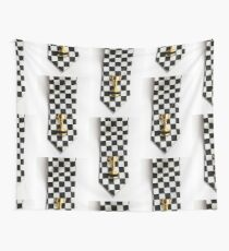 Motor sport racing tie and trophy Wall Tapestry