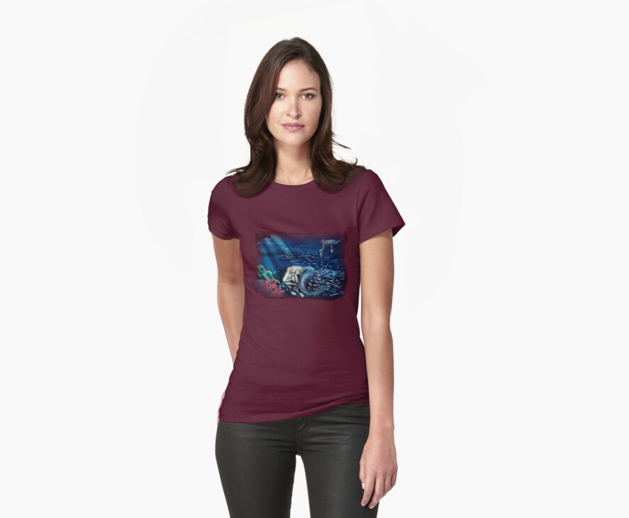 Sea tee by Ivy Izzard