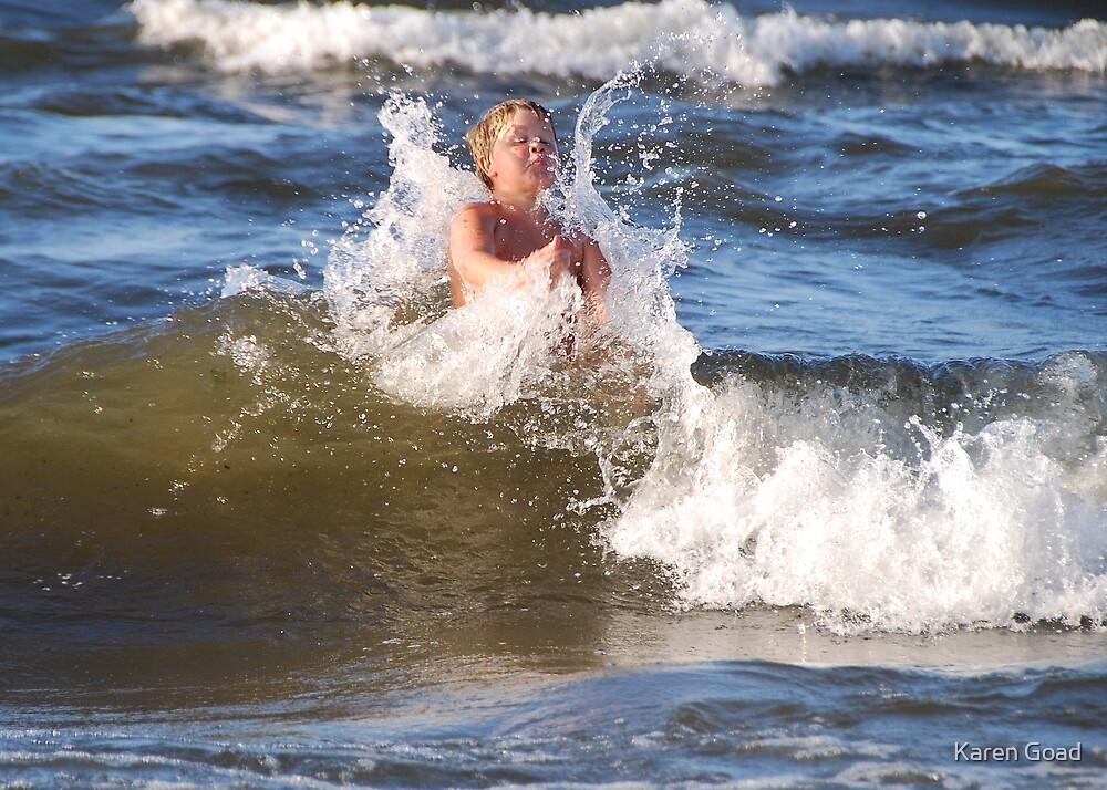 Where's my surf board?? by Karen Goad